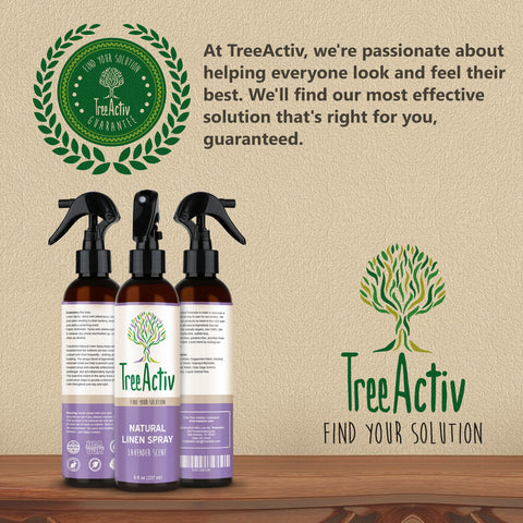 Natural Linen Spray Satisfaction Guarantee TreeActiv