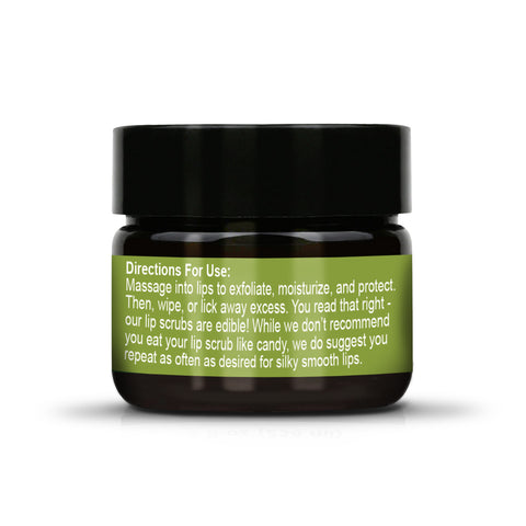 Organic Matcha Anti-Aging Sugar Lip Scrub & Treatment Directions For Use TreeActiv
