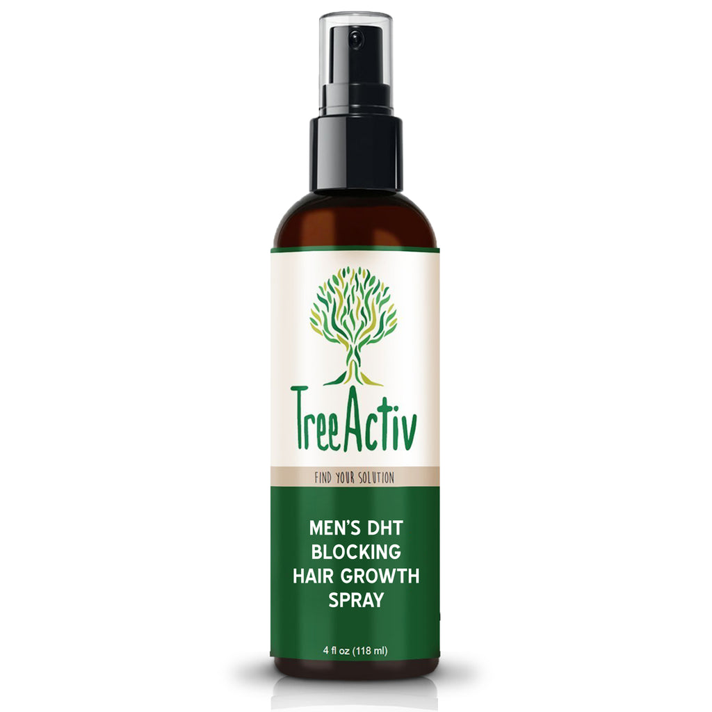 Men's DHT Blocking Hair Growth Spray - TreeActiv