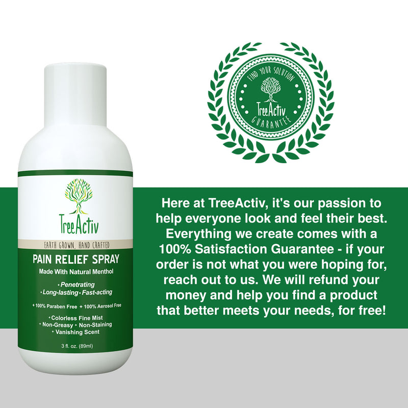 Pain Relief Spray - TreeActiv
