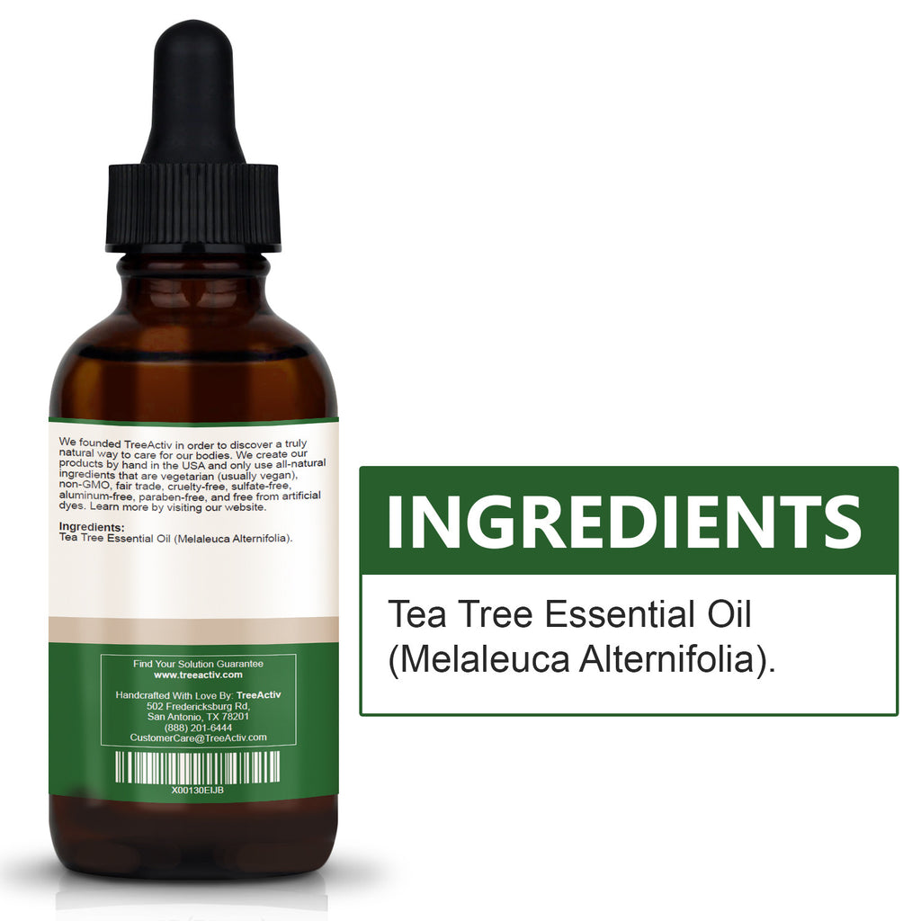 Tea Tree Essential Oil 2oz TreeActiv