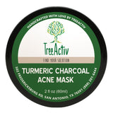 Image of Turmeric Charcoal Acne Mask