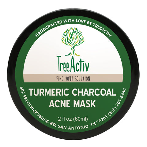 Turmeric Charcoal Acne Mask