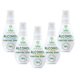 70% Alcohol + 100% Essential Oil Purifying Spray - All Infusions