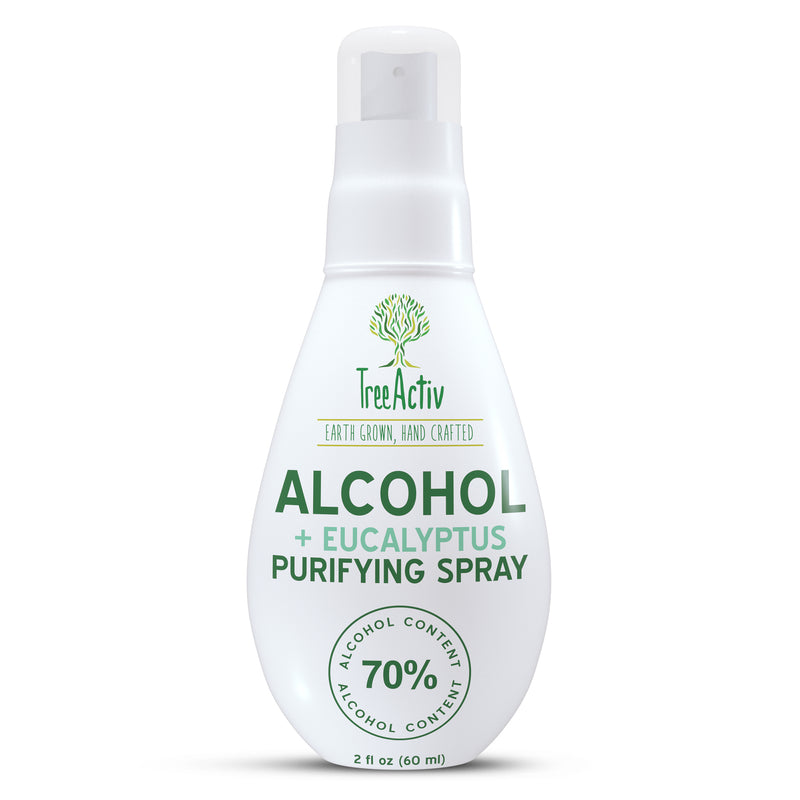 70% Alcohol + Eucalyptus 100% Essential Oil Purifying Spray
