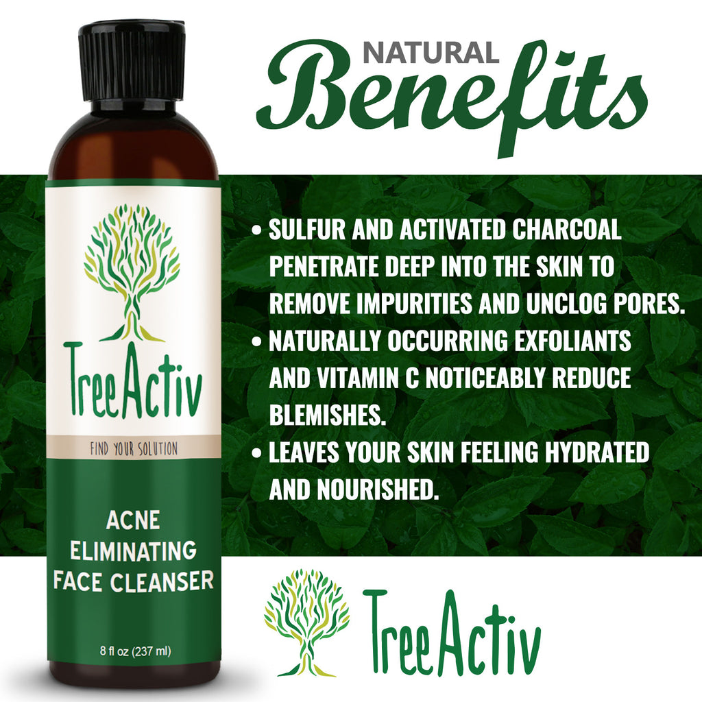 Acne Face Treatment Kit TreeActiv Face Wash