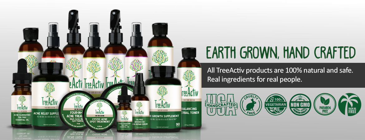 All TreeActiv products are 100% natural and safe. Ingredients so natural, you could eat them.