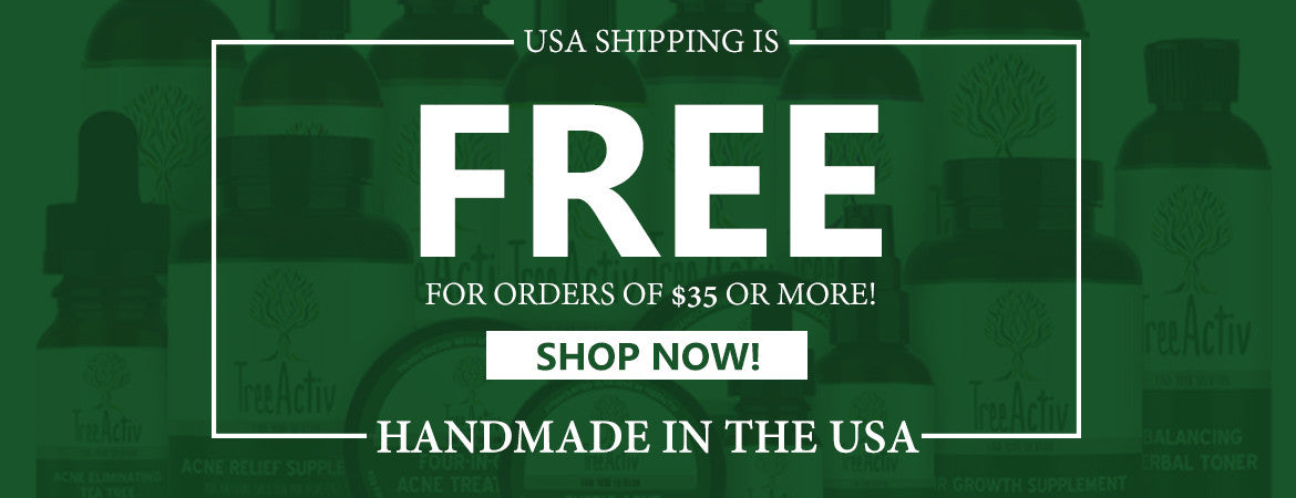 Free domestic shipping when you order $35 or more.