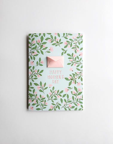 Magnolia Branches - Tiny Envelope Mother's Day Card