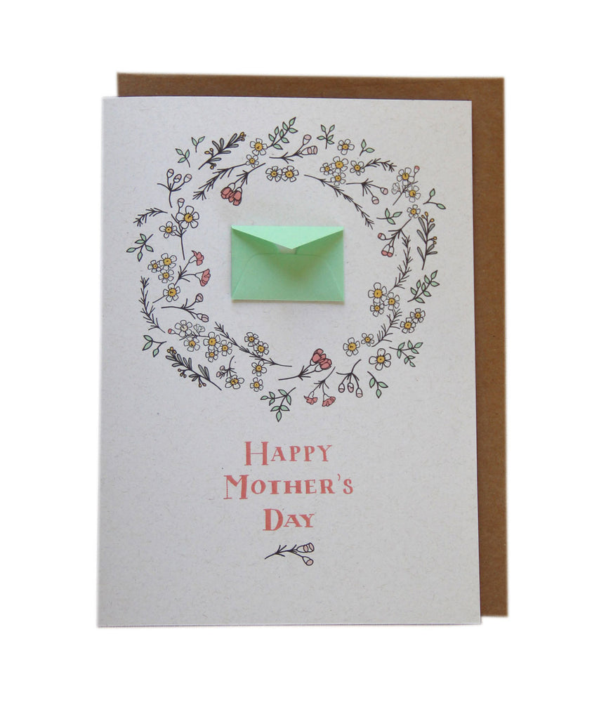 Potpourri - Tiny Envelope Mother's Day Card