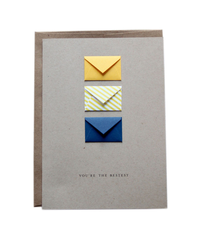 You're the Bestest Butterscotch - Tiny Envelope Card