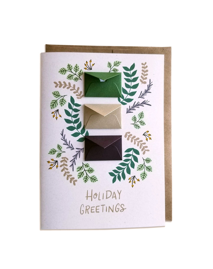 Holiday Fern Tiny Envelopes Card