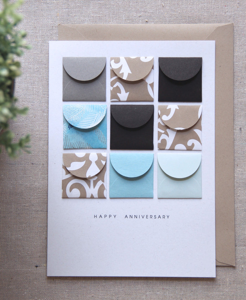 Happy Anniversary - Tiny Envelope Card