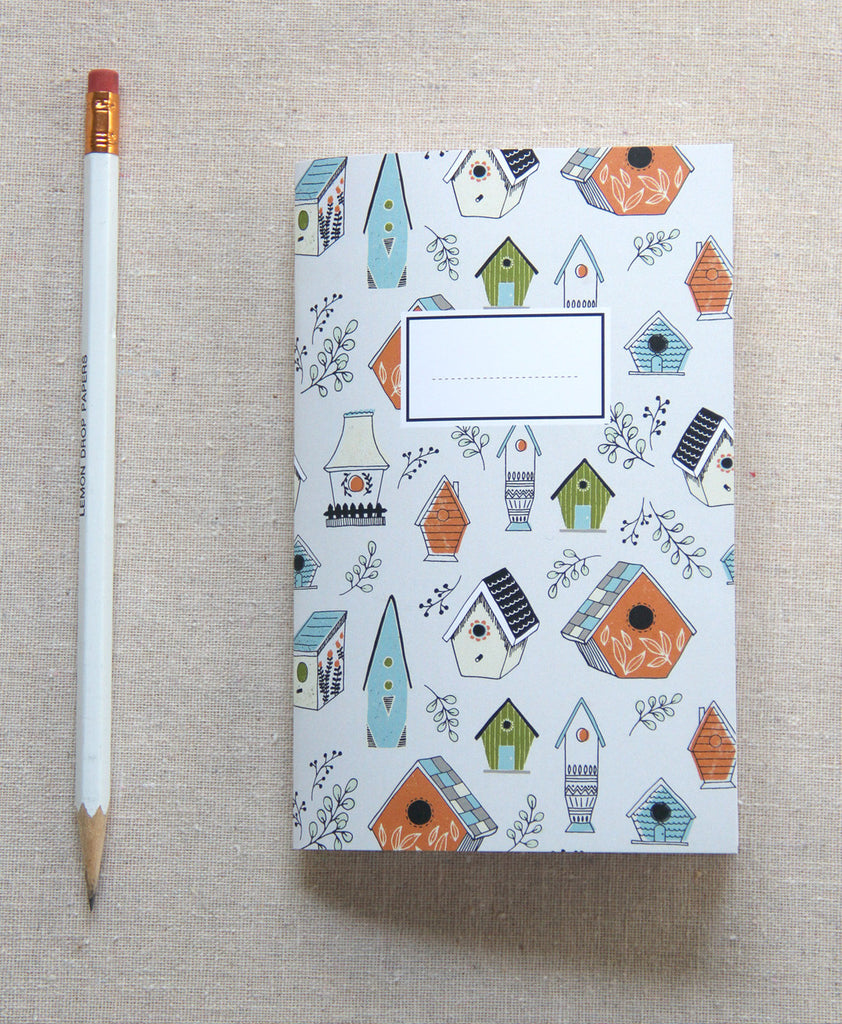 Mini Journal - Bird House