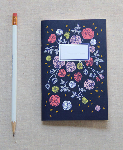 Mini Journal - Vintage Rose