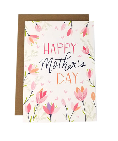 Spring Crocus - Mother's Day Card
