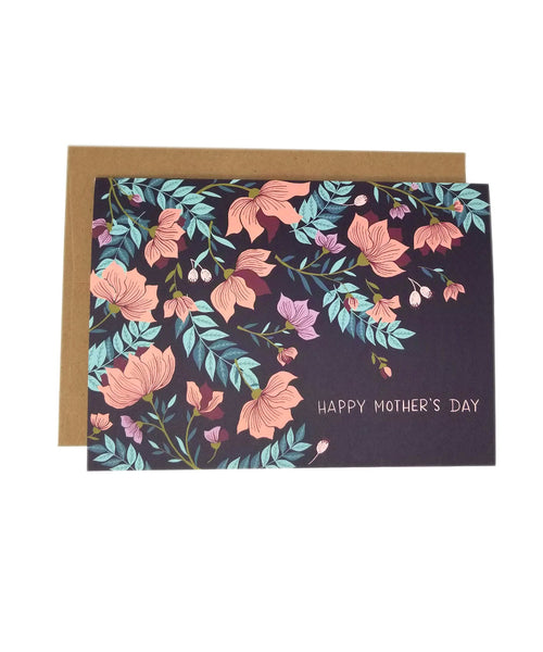 Dark Blossoms - Mother's Day Card