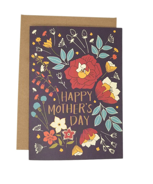 Mom's Day Bouquet - Mother's Day Card