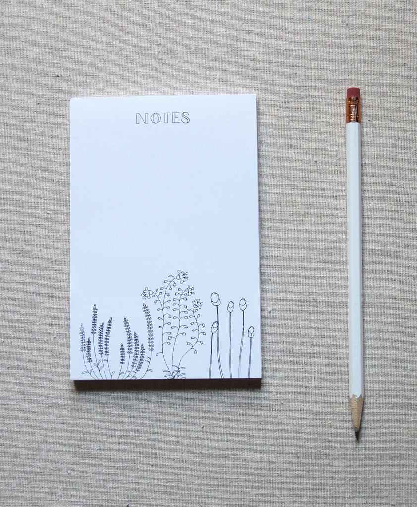 Notepad - Botanical