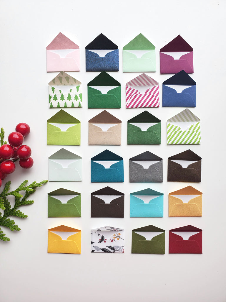 Tiny Love Notes Special Variety Pack - December Advent Calendar