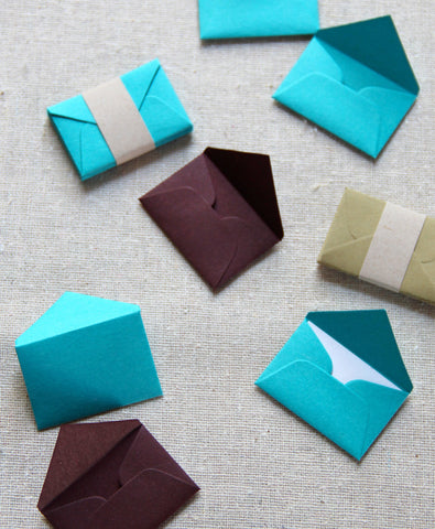 Tiny Love Notes Variety Pack - Peacock