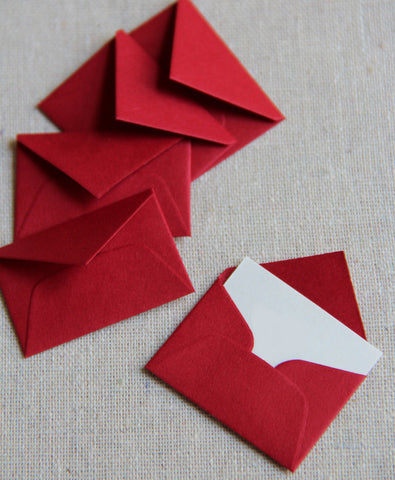 Tiny Love Notes - Red