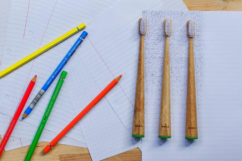 Mable toothbrush, Buy Give Teach program, Mable community, give back