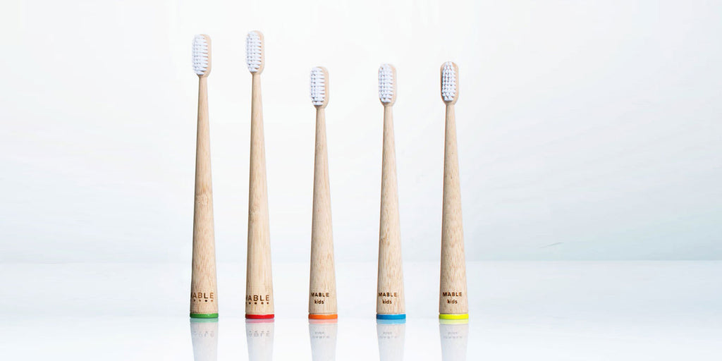 Mable bamboo toothbrush, mable design, toothbrush design