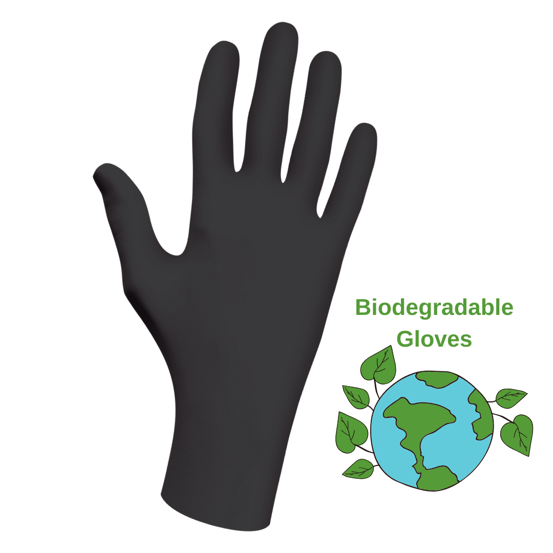Biodegradable Pro Nitrile Gloves (2 box maximum)