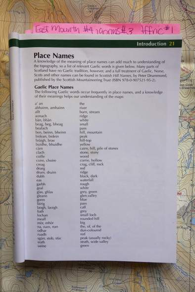 Gaelic Place Names