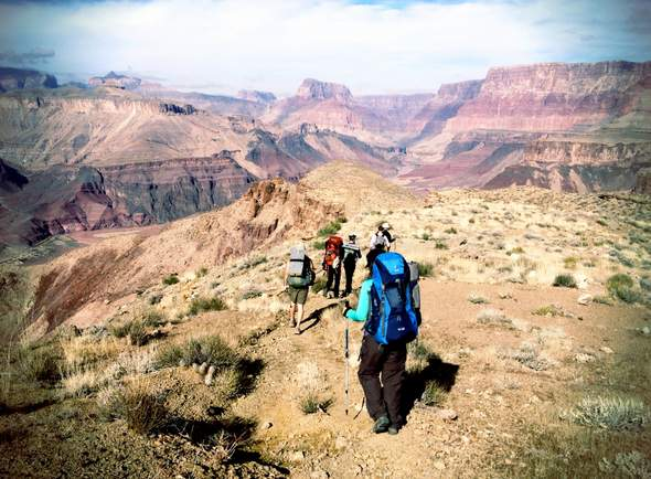 backpacking Escalante Route