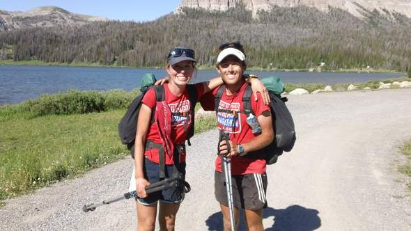 fastpacking continental divide trail