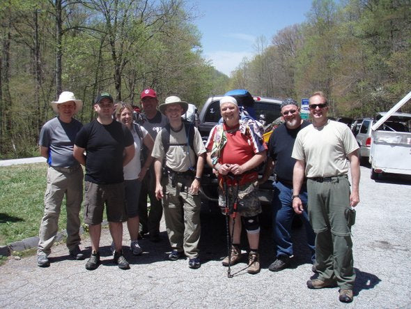 Section Hiking Friends