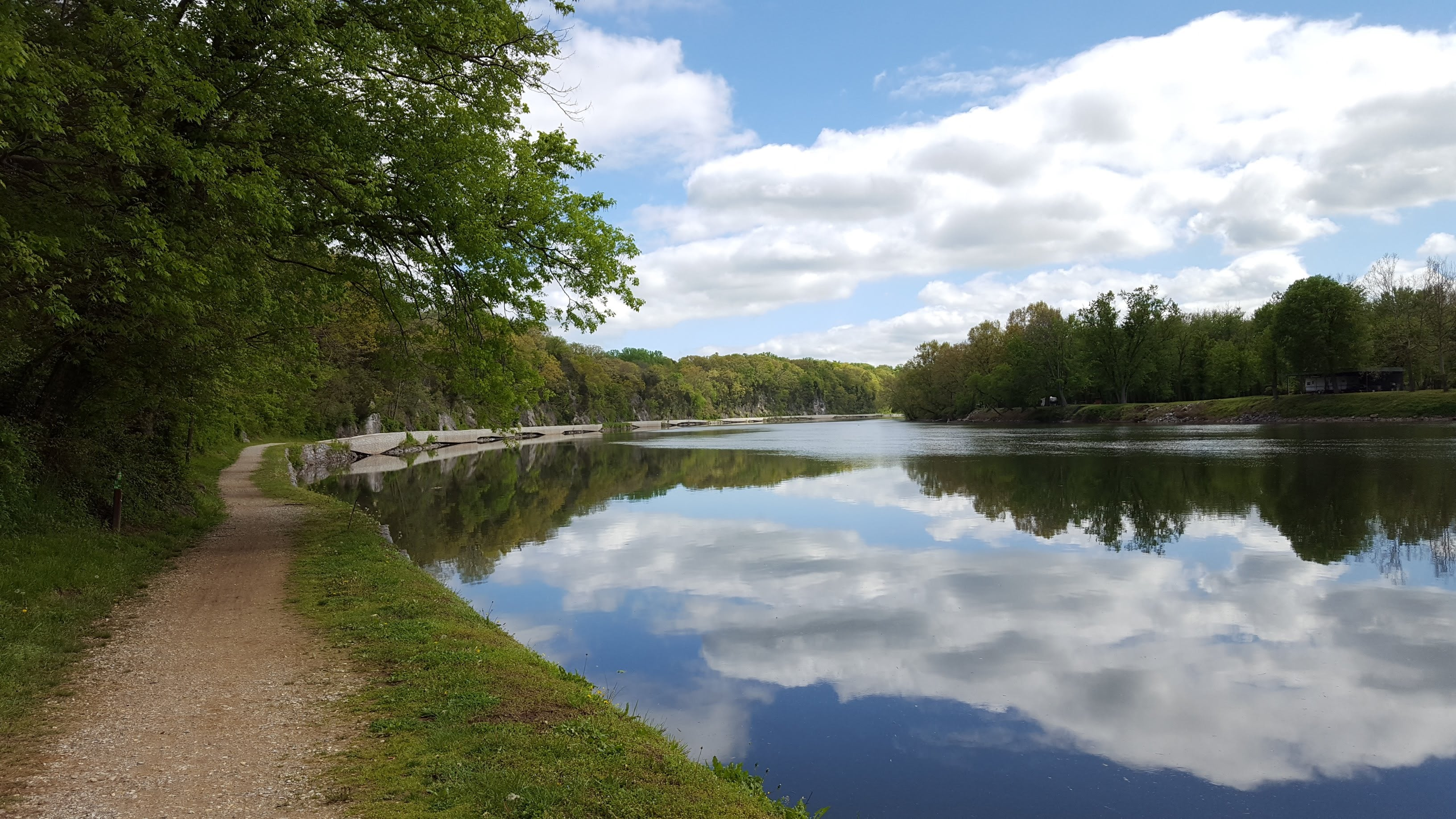 short thru hikes on the C&O Canal