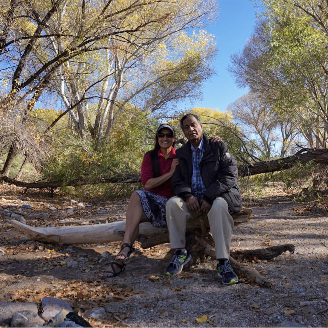 Sirena, the author, reflects on Diversify Outdoors, which includes her father, pictured here