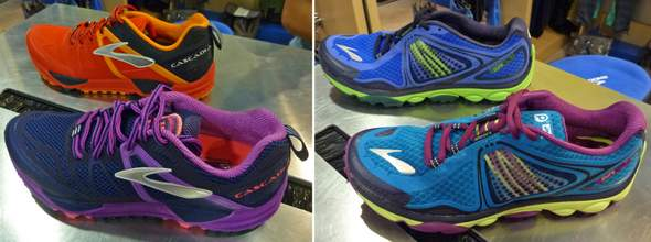 Brooks Cascadia and Pure Grit Trail Runners