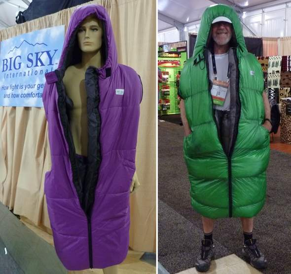 Big Sky International Wearable Sleeping Bag