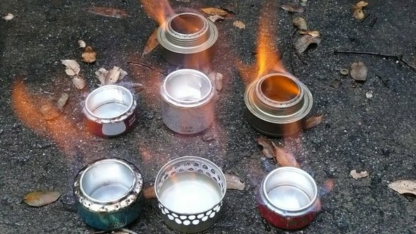 Alcoholl Stoves