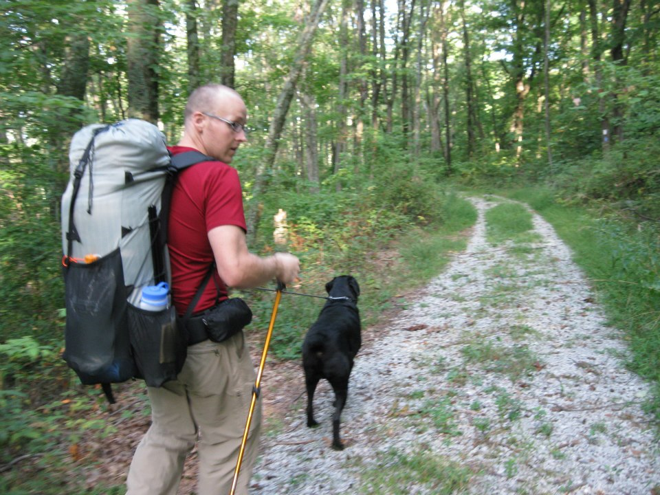 ultralight backpack dog