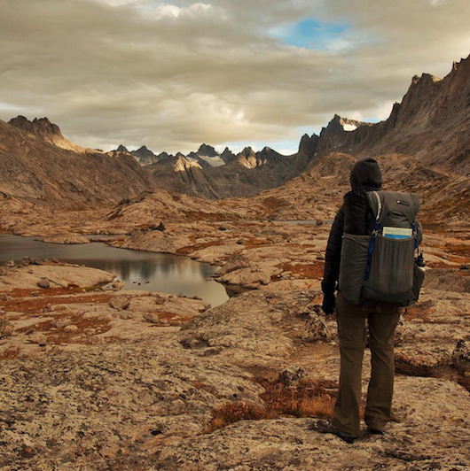 Mariposa Lightweight Backpack in the Wind River Range – credit: Stephanie Baker (@thedancingwind)
