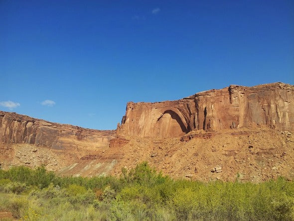 Green River arch