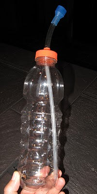 water bottle straw