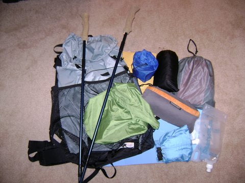 lightweight backpacking workshop