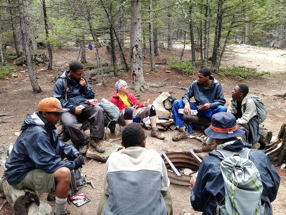Philmont Lunch Stop