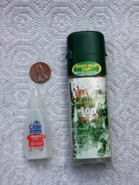 Tiny DEET Replacement Bottle