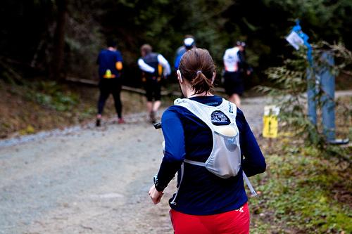 ultramarathon running