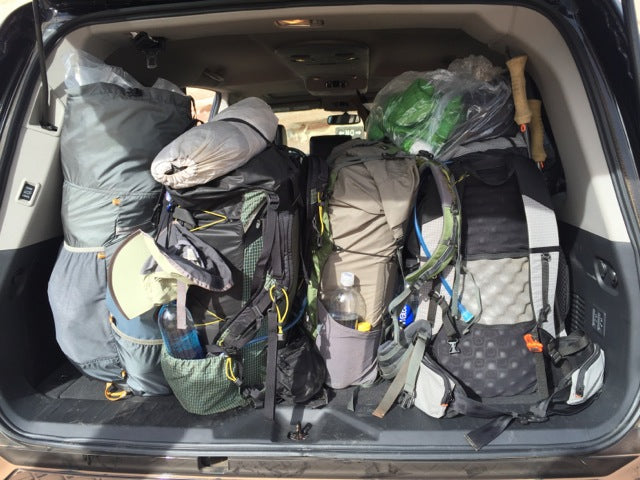 gossamer gear packs