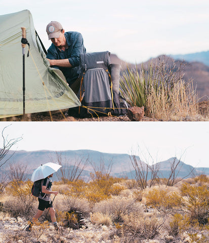 Gossamer Gear Shelters Sleeping Pads and Umbrellas