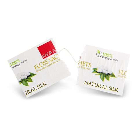 Natural Biodegradable Silk Floss Sachets