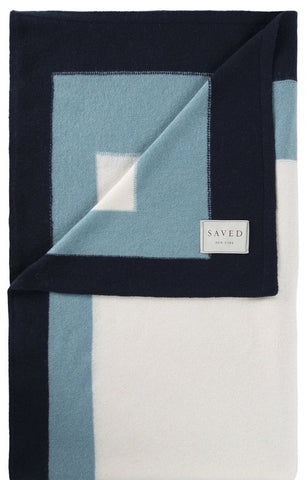 Blues Cashmere Blanket